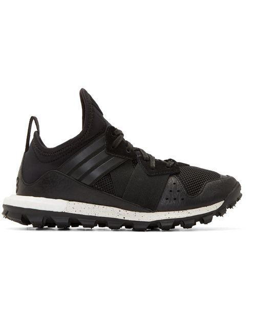 Y-3 | Чёрный Black And White Response Tr Boost Sneakers