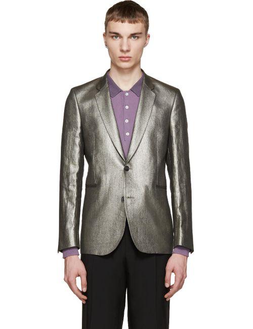 Paul Smith | Серый Silver Linen Blazer