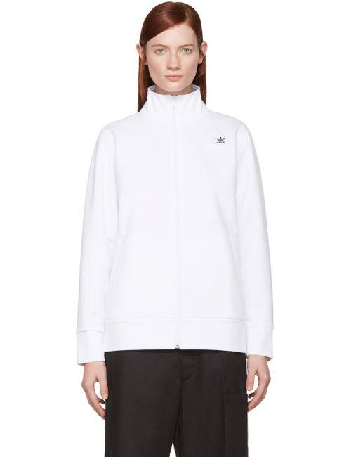 ADIDAS ORIGINALS BY HYKE | Белый Bonded Jersey Track Jacket
