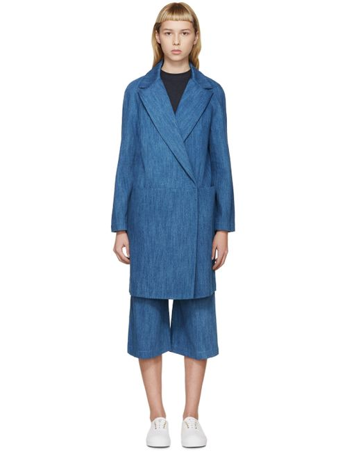 ATEA OCEANIE | Blue Denim Coat