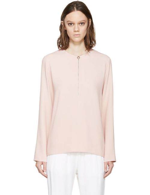 Stella Mccartney | Pink Zippered Arlesa Blouse