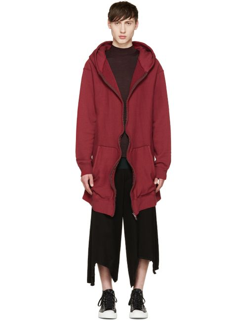 Undercover | Bordeaux Red French Terry Long Hoodie