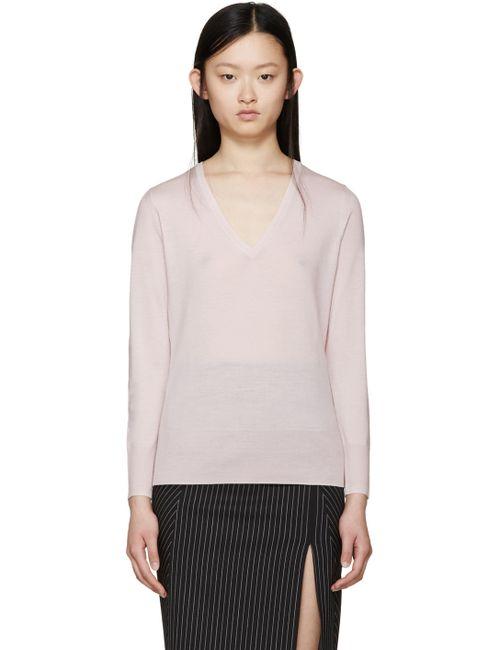 Burberry London | Розовый Pink Merino Whistonbrook Sweater