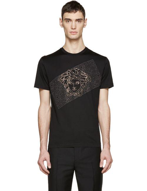 Versace   Чёрный Black Studded M