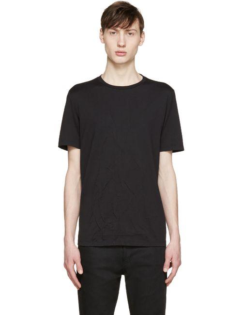 Maison Margiela | Чёрный Black Wrinkled T-Shirt