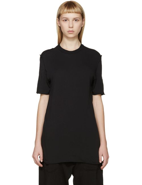 Damir Doma | 99 Coal Black Toral T-Shirt