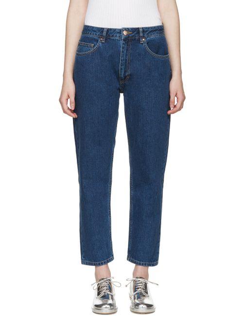 AALTO | Синий Indigo Blockbuster Jeans