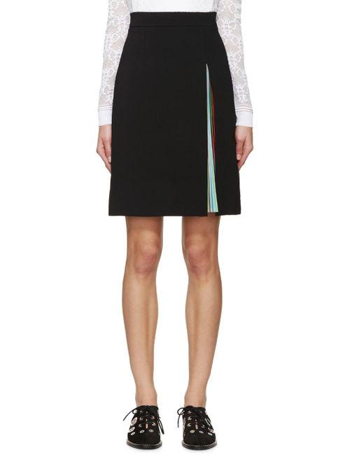Mary Katrantzou   Чёрный Black Nema Skirt