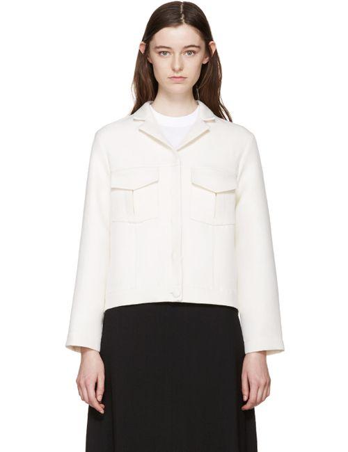 Harmony | Белый Off-White Cropped Jacket