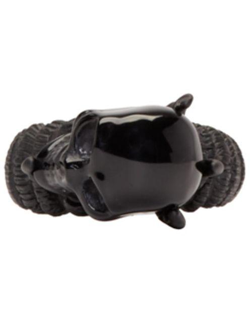 Alexander McQueen | Чёрный Black Skull Claw Ring