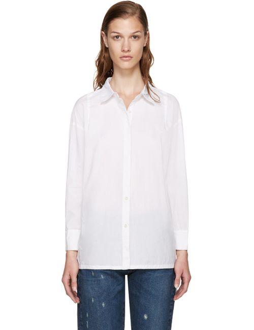 Frame Denim | Белый Le Oversized Shirt
