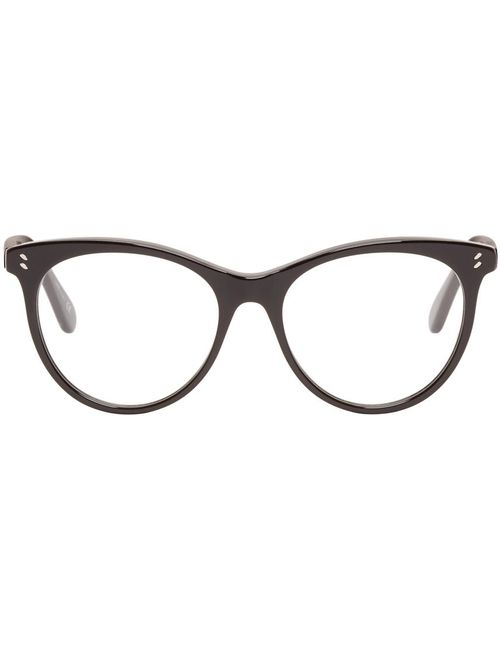 Stella Mccartney | Чёрный Black Round Optical Glasses