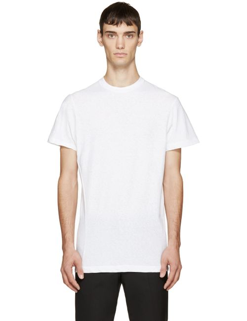Dsquared2 | Мужское Белый White Sexy Slim T-Shirt