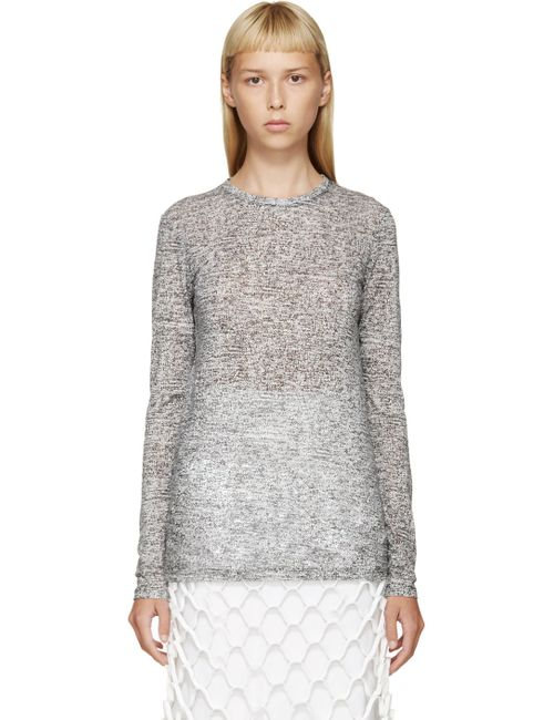Proenza Schouler | Белый Black And White Printed T-Shirt