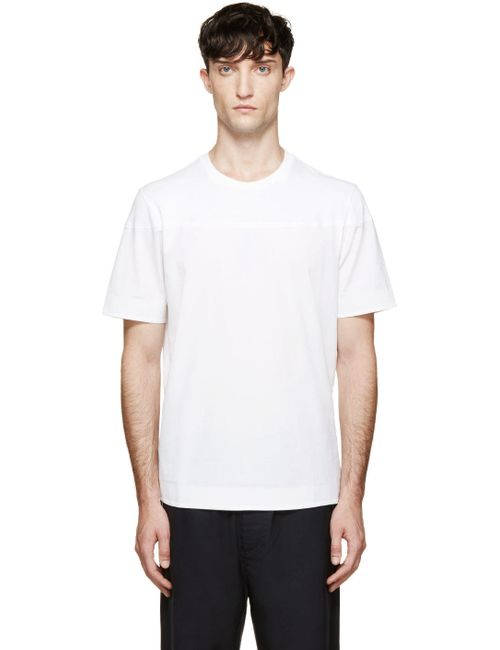 OAMC | Мужское Белый White Lace-Up T-Shirt
