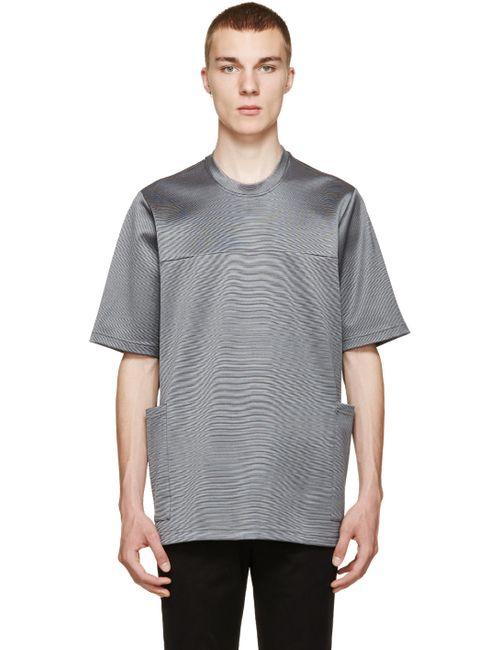 Christopher Kane | Мужское Серый Grey Oversized Stretch T-Shirt