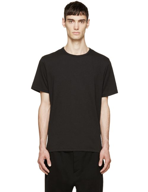 Rag & Bone | Мужское Чёрный Rag And Bone Perfect Jersey T-Shirt