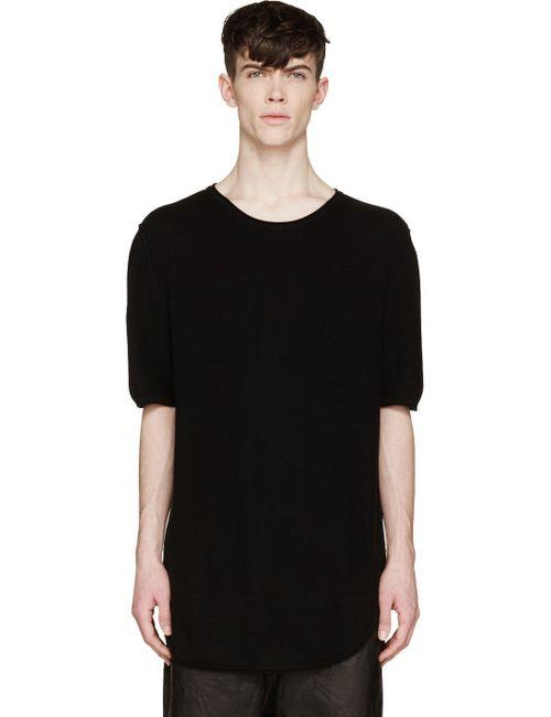 ALEXANDRE PLOKHOV | Мужское Чёрный Knit Short Sleeve T-Shirt