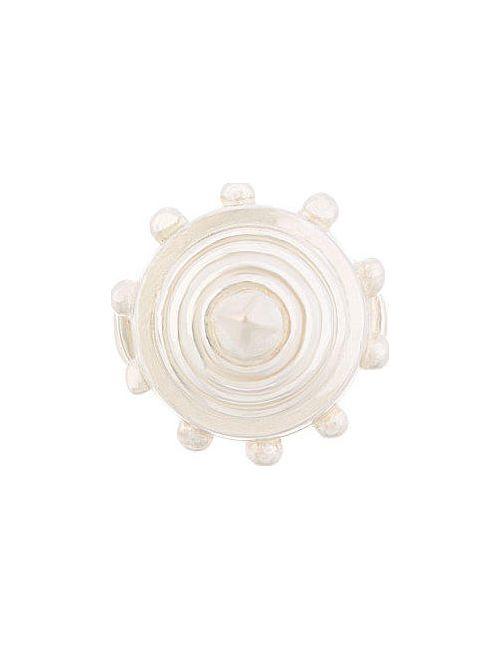 Ktz | Серебристый Cone Ring