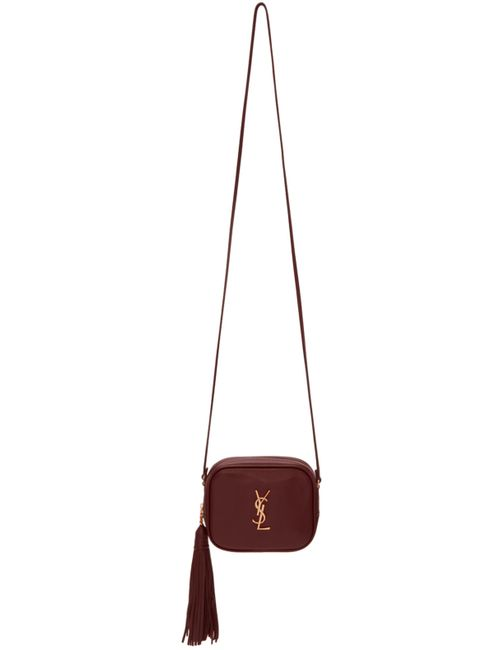 Saint Laurent | Чёрный Purple Monogram Blogger Bag