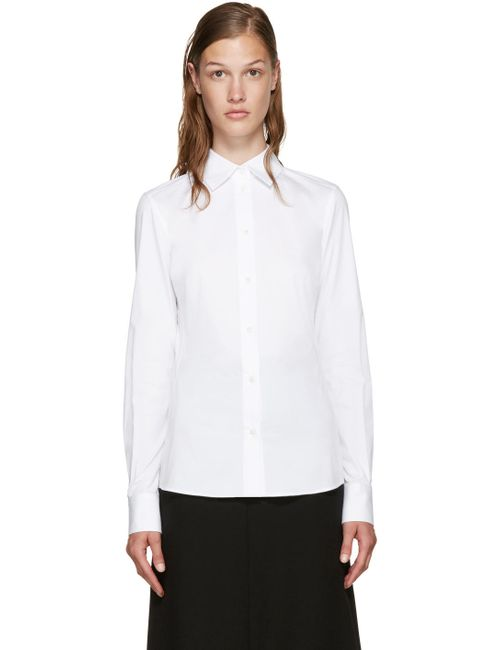 Dolce & Gabbana | Белый Dolce And Gabbana White Poplin Shirt