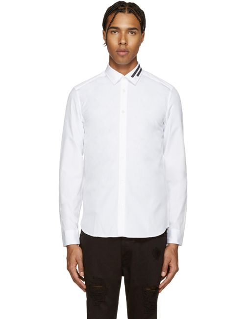 Kenzo | Белый White Poplin Shirt