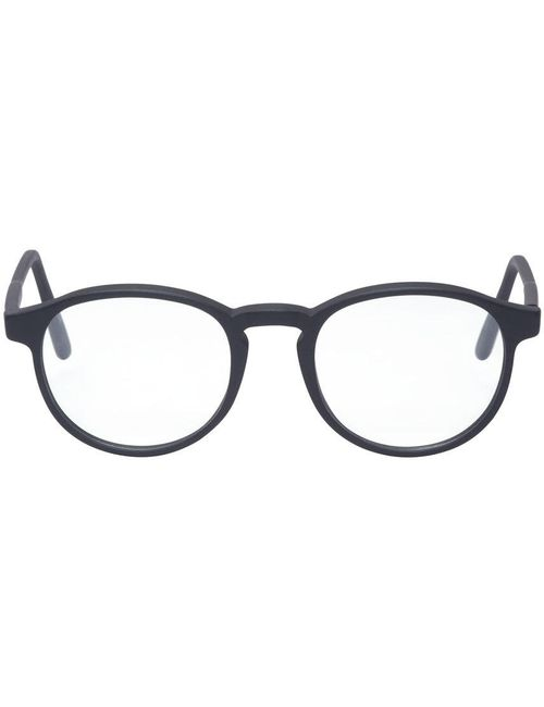 Super | Чёрный Black Matte 01 Bureau Glasses