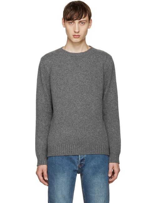 A.P.C. | Gris Chine Pla Grey Shortbread Sweater