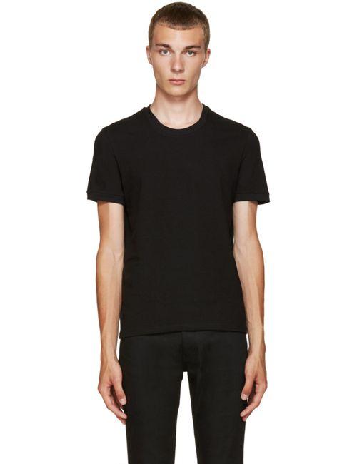 Dolce & Gabbana | Мужское Черный Dolce And Gabbana Black Pure T-Shirt