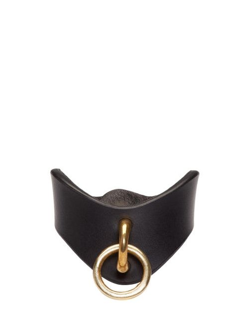 Fleet Ilya | Чёрный Black Leather O-Ring Cuff