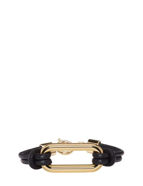 Isabel Marant | 12do-Dore Black Leather Skate Bracelet