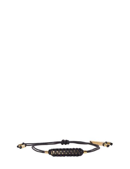 Isabel Marant | Чёрный Black Shadowy Rope Bracelet