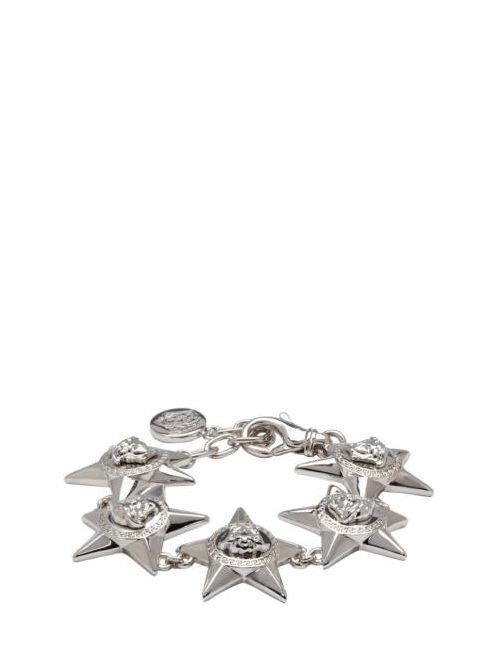Versace | Серебристый Silver Medusa Star Bracelet