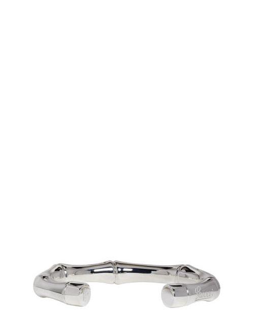 Gucci | Серебристый Silver Bamboo Bracelet
