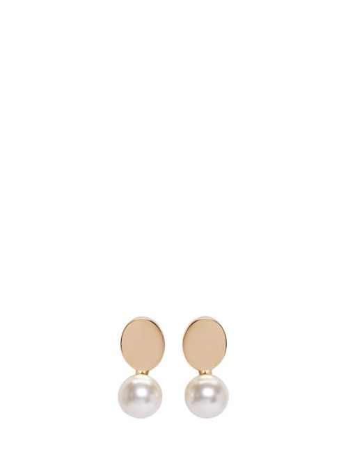 Chloe | 002 Pearl Chloé Gold Pearl Darcey Earrings