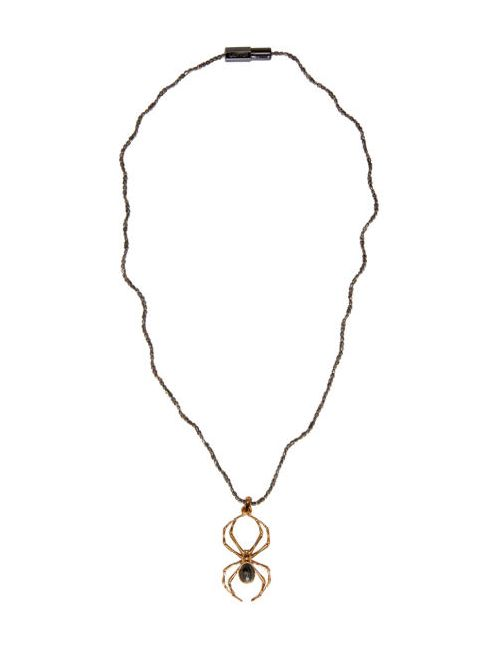 Lanvin | Золотой Gold Spider Pendant Necklace