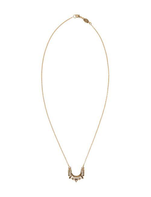 Pamela Love | Золотой Gold Mini Tribal Spike Necklace