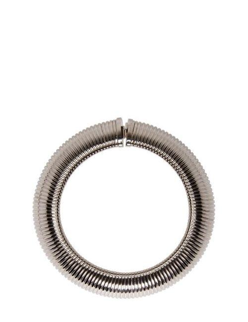 Saint Laurent | 8126 Palladium Silver Serpent 4 Choker