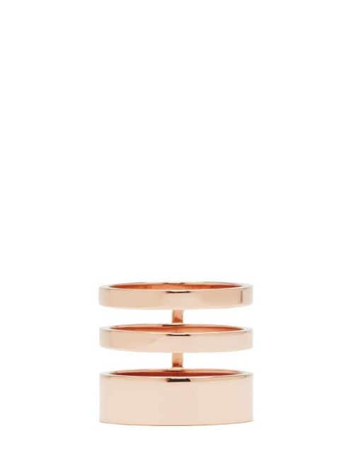 REPOSSI | Золотой Triple Band Berbere Ring