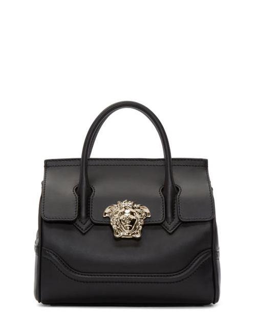 Versace | Золотой Black Medium Palazzo Bag