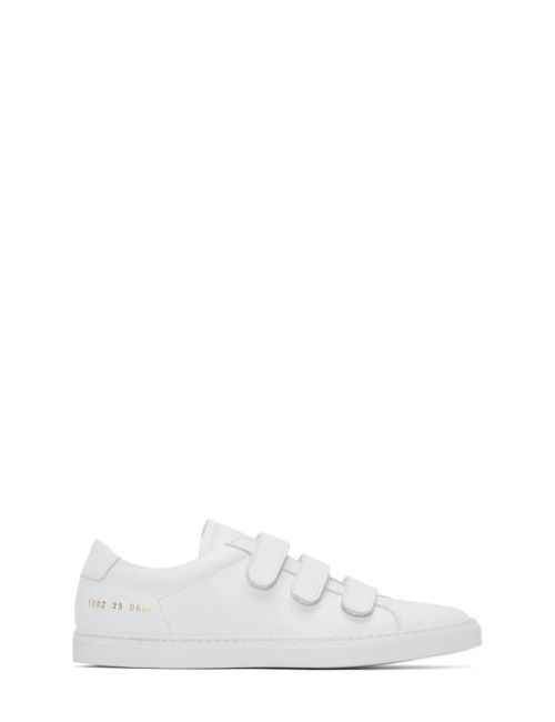 Common Projects | Белый White Achilles Three Strap Sneakers