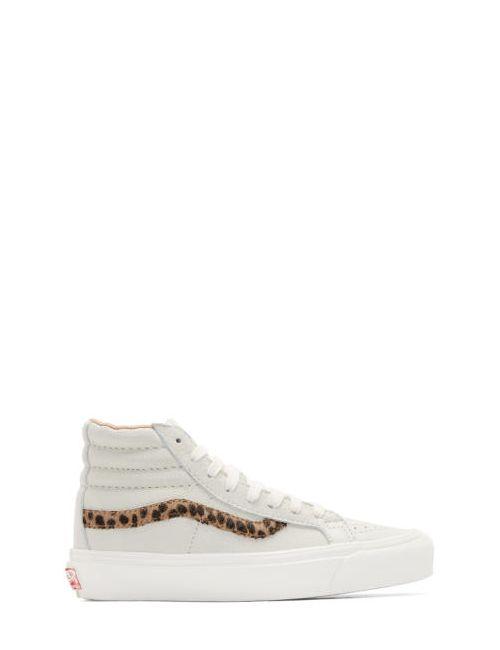 Vans | Leopard Grey Og Sk8-Hi Lx Sneakers