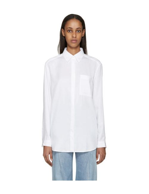 Acne | Белый Denim Addle Shirt