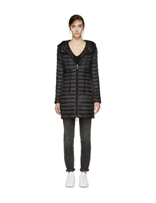 Moncler | Чёрный Black Down Barbel Jacket