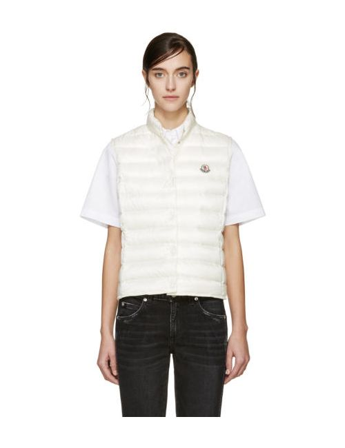 Moncler | Cream Down Liane Vest