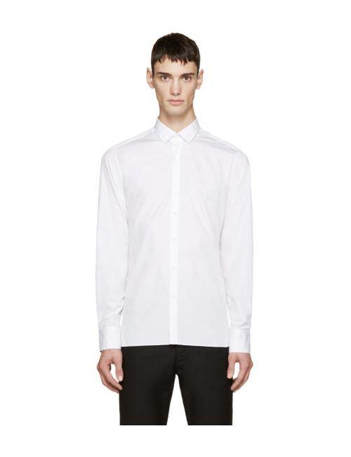 Lanvin | Белый White Poplin Shirt