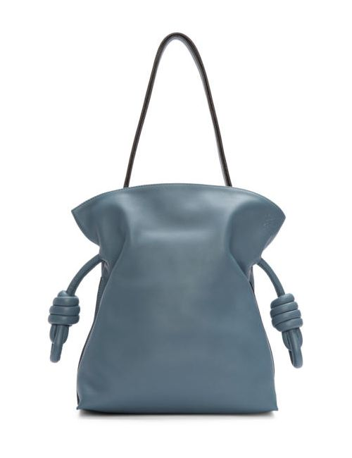 Loewe | Синий Blue Small Flamenco Knot Bag