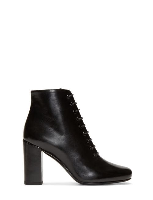 Saint Laurent | Черный Black Tripon Babies Boots
