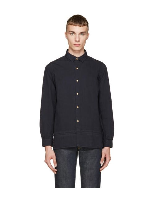 Visvim | Navy Long Rider Shirt