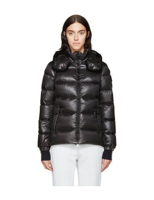 Moncler | 928 Charcoal Shiny Charcoal Berre Down Jacket